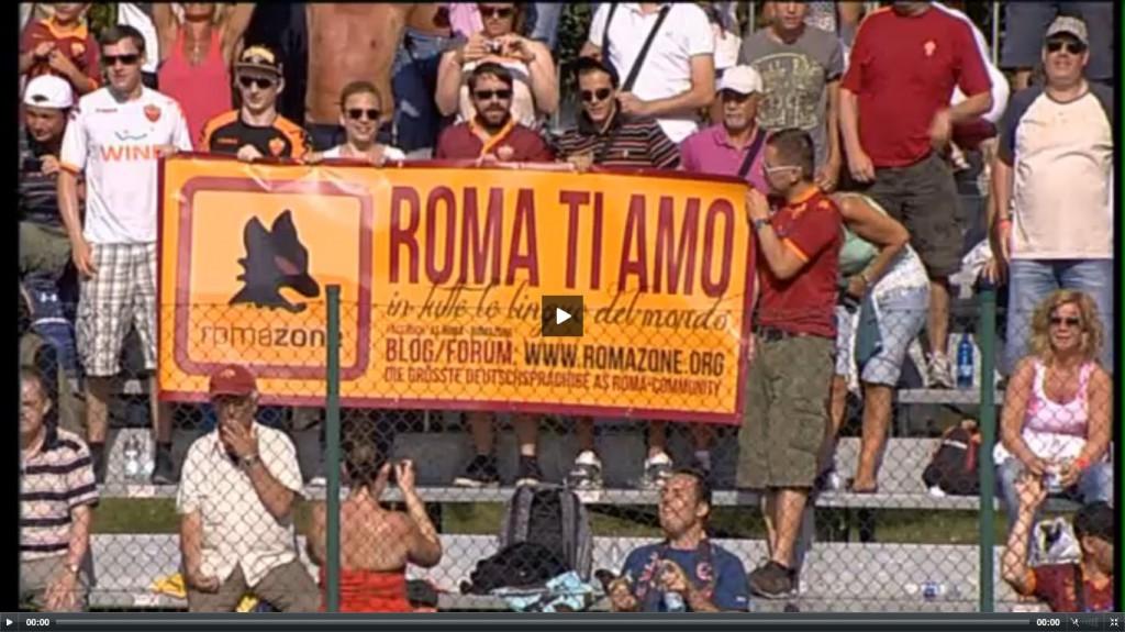 Romazone mit Transparent