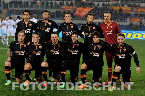 Roma-Startelf (fototedeschi.it)