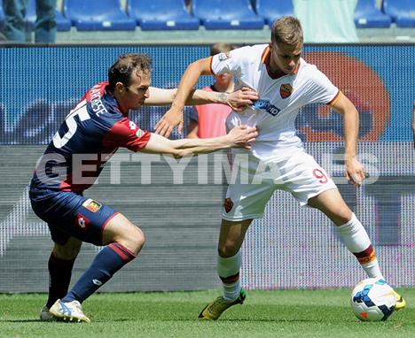 Federico Ricci bei seinem ersten Serie A Spiel in der Startelf (getty images)