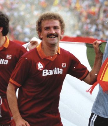 Herbert Prohaska feiert den Scudetto 1982/83