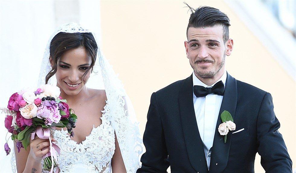 Alessandro Florenzi mit seiner Frau Ilenia Atzori (www.vanityfair.it)